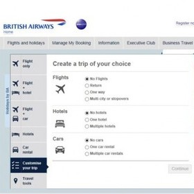 CUSTOMISE YOUR TRIP' WITH BRITISH AIRWAYS HOLIDAYS