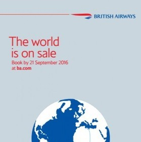 BEAT THE BACK TO WORK BLUES WITH BRITISH AIRWAYS' WORLD SALE