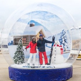 POWDER FLIGHT: HIT THE SLOPES WITH MADE IN CHELSEA'S LUCY AND JAMES