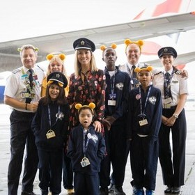 SUPERCHARGED SEND OFF FOR BRITISH AIRWAYS DREAMFLIGHT 30TH ANNIVERSARY