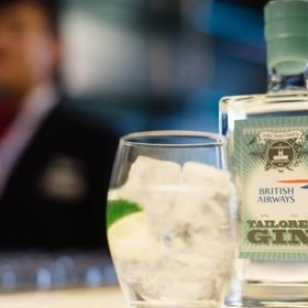 BRITISH AIRWAYS GIN IS JUST THE TONIC