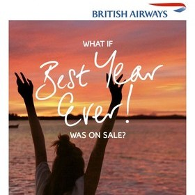 BRITISH AIRWAYS LAUNCHES JANUARY SALE MARKETING CAMPAIGN