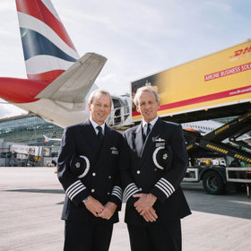 BRITISH AIRWAYS' TWIN BROTHERS BORN 30 MINUTES APART CELEBRATE THEIR 6OTH BIRTHDAYS BY RETIRING… 30 SECONDS APART