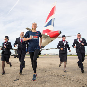 BRITISH AIRWAYS IS HEADLINE SPONSOR OF RUN GATWICK EVENT