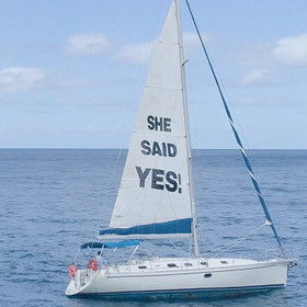 """SHE SAID YES"" – ROYAL NAVY OFFICER PULLS OFF THE ULTIMATE PROPOSAL"