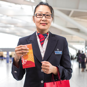 BRITISH AIRWAYS CELEBRATES CHINESE NEW YEAR WITH TERMINAL 5 GOODIES
