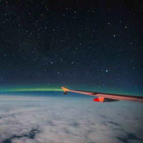 BRITISH AIRWAYS AEROBILITY CHARTER TAKES TO THE SKIES TO VIEW THE NORTHERN LIGHTS AT 30,000 FEET