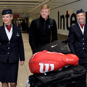 BRITISH AIRWAYS ANNOUNCES PARTNERSHIP WITH TENNIS STAR, KYLE EDMUND