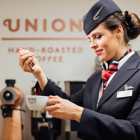 BRITISH AIRWAYS PARTNERS WITH BRITISH BRAND TO PROVIDE COFFEE LOVERS WITH A LATTE OF OPTIONS