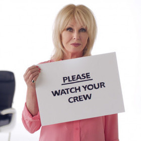ANOTHER ABSOLUTELY FABULOUS SAFETY VIDEO FROM BRITISH AIRWAYS AND COMIC RELIEF