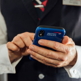 AT YOUR SERVICE: BRITISH AIRWAYS ANNOUNCES MULTI-MILLION POUND INVESTMENT IN THE LATEST MOBILE TECHNOLOGY FOR CABIN CREW IN DRIVE TO OFFER PERSONALISED CUSTOMER SERVICE