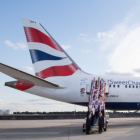 ENGLAND RUGBY TEAM DEPART FOR JAPAN