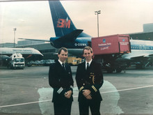 Twin captains - Jeremy and Nick Hart 1992