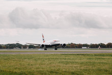 British Airways' 25th Boeing 787 Dreamliner arrives at Heathrow