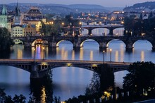 Prague waterfront