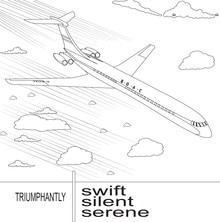 Airplanes Online Coloring Pages | 222x220