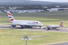 A380 at Shannon Airport