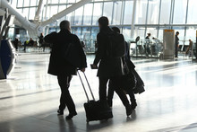 Customers arrive at Heathrow Terminal 5
