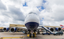 British Airways Latest Airbus A380 - LEL