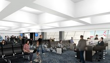 New York JFK new gate area