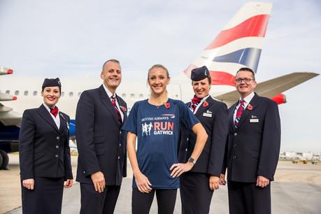 Paula Radcliffe announces British Airways Run Gatwick event