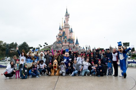 A Disney day out for three charities
