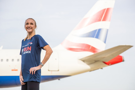 Paula Radcliffe announces British Airways Run Gatwick event