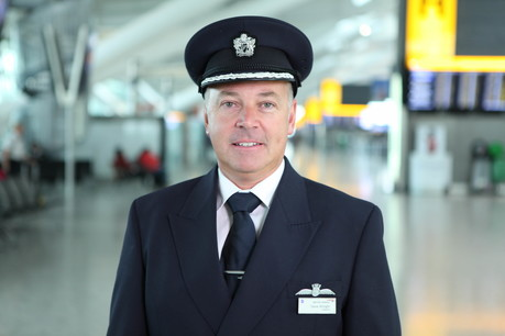 British Airways Captain Steve Allright