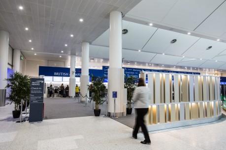 British Airways at Gatwick South Terminal