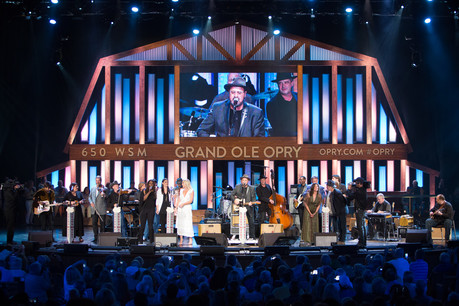 Grand Old Opry House Stage Performance