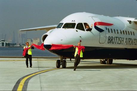 BA CityFlyer first flight from London City
