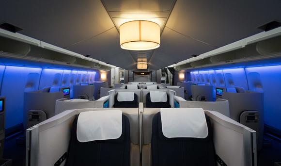 Refreshed Boeing 747 three
