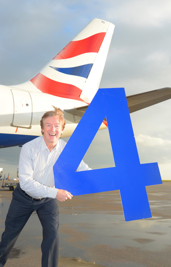 Fourth anniversary at Leeds Bradford Airport with Tony Hallwood, Aviation Development Director