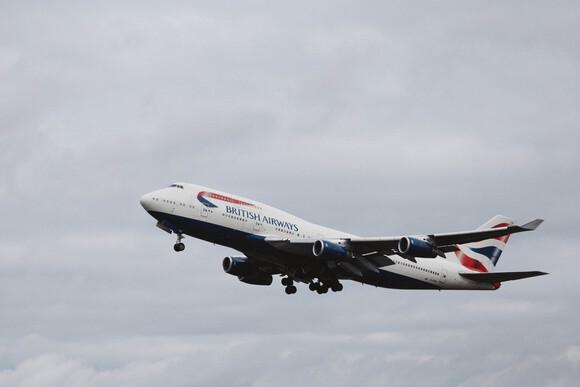 Boeing 747 Take Off