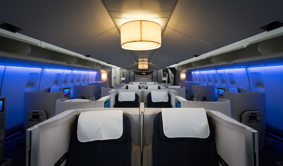 Boeing 747s - Club World refreshed interior