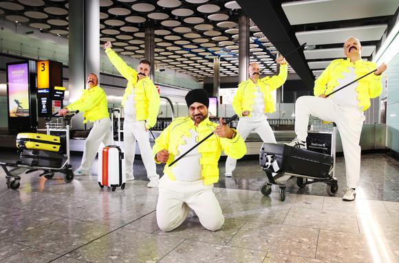 British Airways - FREDDIE FOR TAKE-OFF!