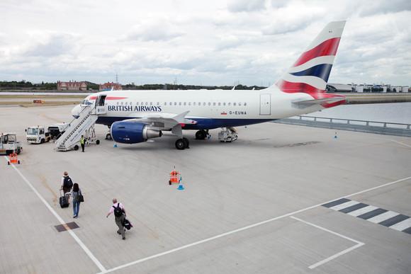 British Airways A318