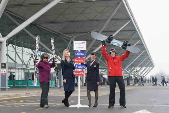 Chambery flights take off from Stansted