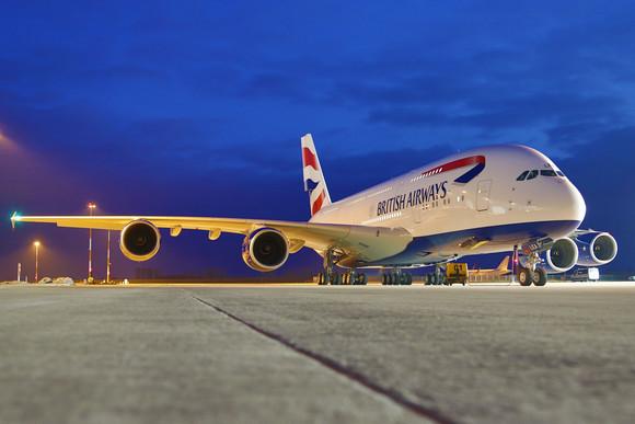 British Airways - BRITISH AIRWAYS' AIRBUS A380