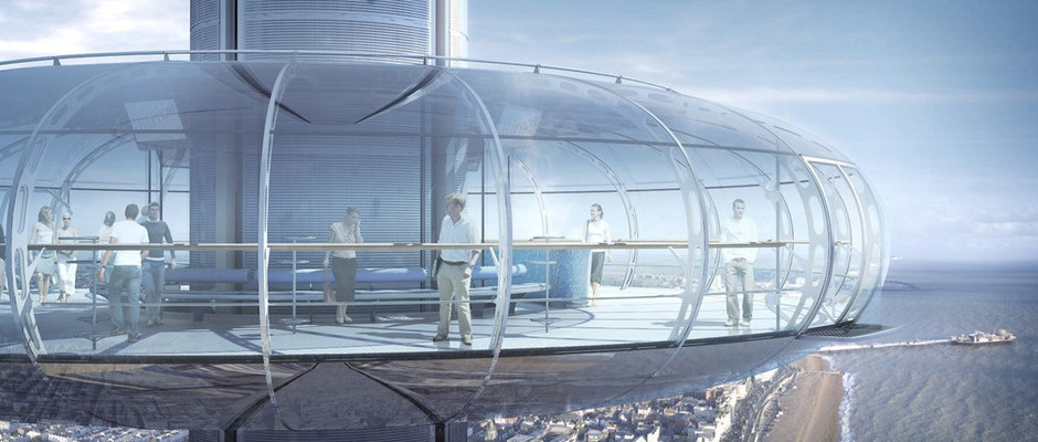 A NEW KIND OF ALTITUDE FOR BRITISH AIRWAYS AS IT SPONSORS THE i360 OBSERVATION TOWER