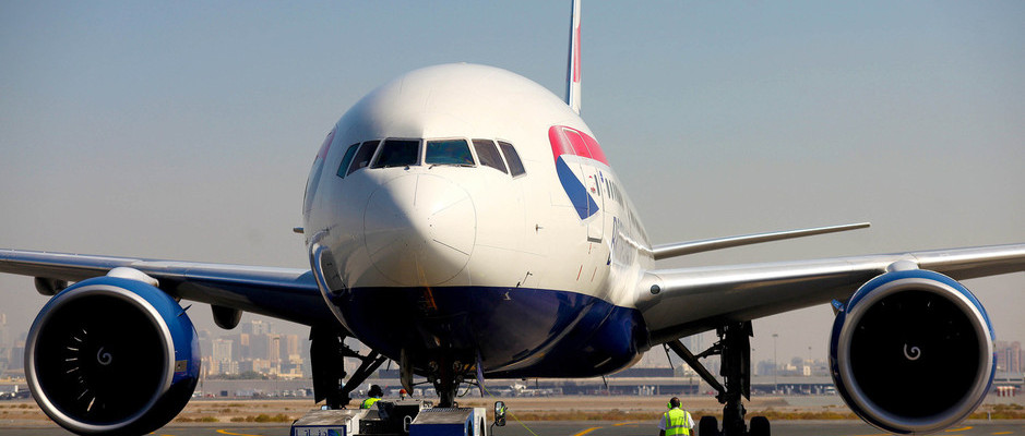 TAKE OFF TO TEHRAN WITH BRITISH AIRWAYS