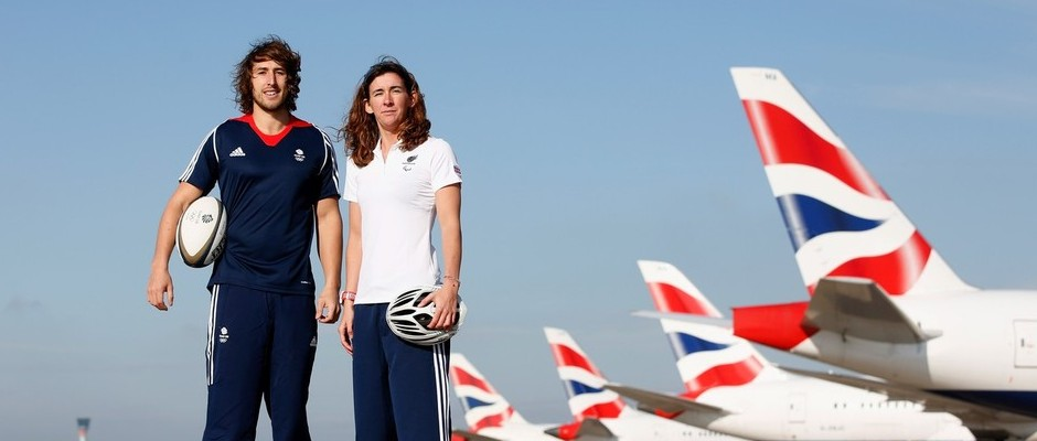 BRITISH AIRWAYS APPOINTED OFFICIAL AIRLINE OF TEAM GB AND PARALYMPICSGB