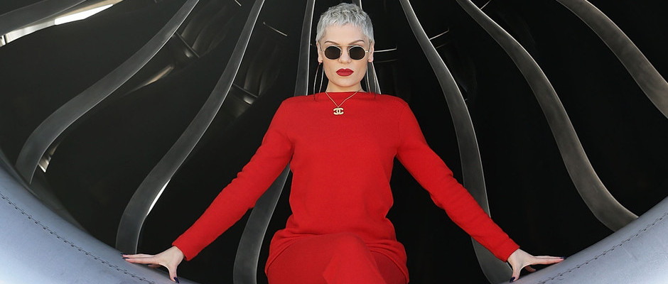 JESSIE J IS PLANE AMAZING AS SHE PERFORMS LIVE SHOW ON BOARD BRITISH AIRWAYS JET TO MARK THE ARRIVAL OF SUMMER BACK HOME