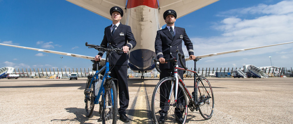BRITISH AIRWAYS PILOTS PEDAL TO GUINNESS WORLD RECORDS TITLE