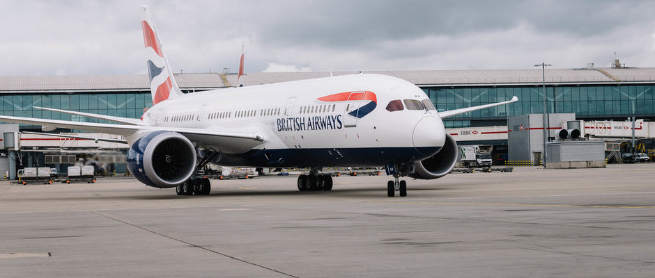 BRITISH AIRWAYS' 25TH 787 DREAMLINER TOUCHES DOWN AT HEATHROW HOME