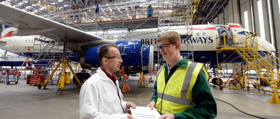 BRITISH AIRWAYS CELEBRATES WORK EXPERIENCE MONTH