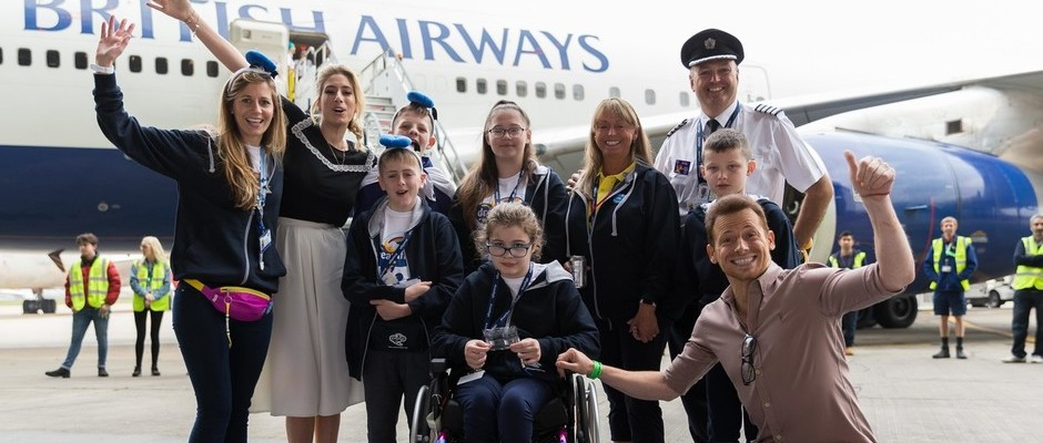 BRITISH AIRWAYS STAFF, AN ARMY OF VOLUNTEERS AND CELEBRITIES GIVE DREAMFLIGHT 2017 THE X FACTOR