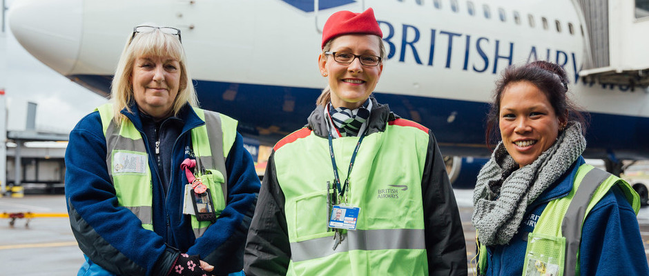 BRITISH AIRWAYS WOMEN FLY THE FLAG FOR THE NEXT GENERATION